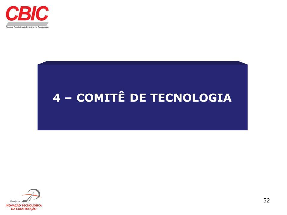 52 4 – COMITÊ DE TECNOLOGIA