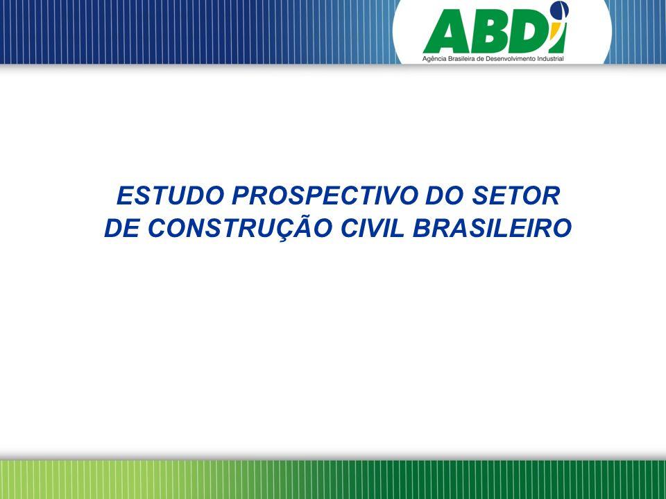 O EPS – Estudo Prospectivo Setorial da Construção Civil teve início em março de 2008 com a instalação do Comitê Gestor do Estudo, constituído por representantes de entidades públicas e privadas atuantes no setor: MDIC - MCIDADES – MCT – ABDI – APEX - BNDES – CEF – CGEE - INMETRO - SEBRAE – SENAI – ABRAMAT – CBIC – FIESP Foi contratado o CGEE – Centro de Gestão e Estudos Estratégicos para desenvolvimento do Estudo, tendo em vista a abordagem e metodologia já aplicadas e consolidadas em outros setores.
