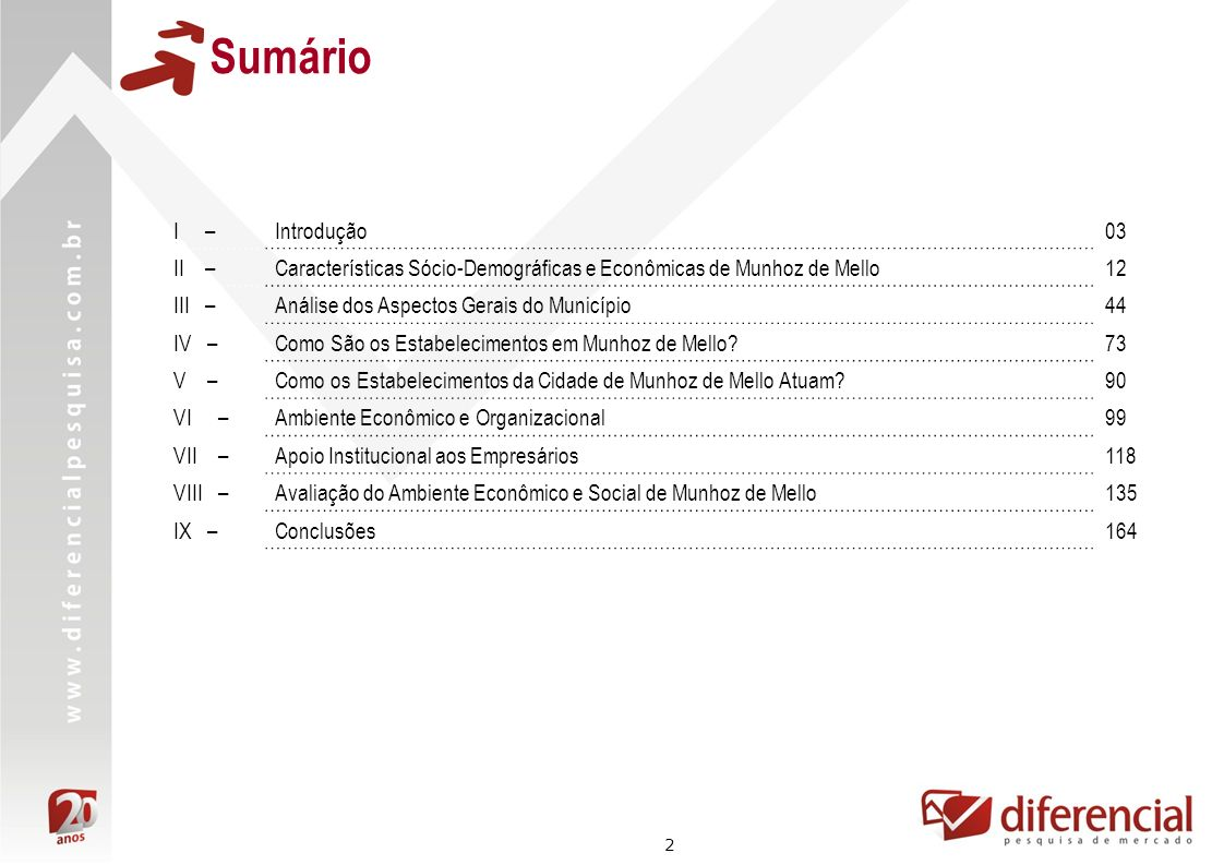 33 Dados Econômicos Fonte: RAIS – MTE Número de Estabelecimentos Formais - 2005 a 2008 Participação de empresas com pelo menos 1 funcionário no total: 39% 40% 35% Número de Empresas - 2008 Microrregião de Astorga Paraná Total de empresas8.996565.644 Total de empresas com pelo menos 1 funcionário 3.886216.790 Participação43%38% Apesar de crescente, o número de empresas em Munhoz de Mello é muito baixo.
