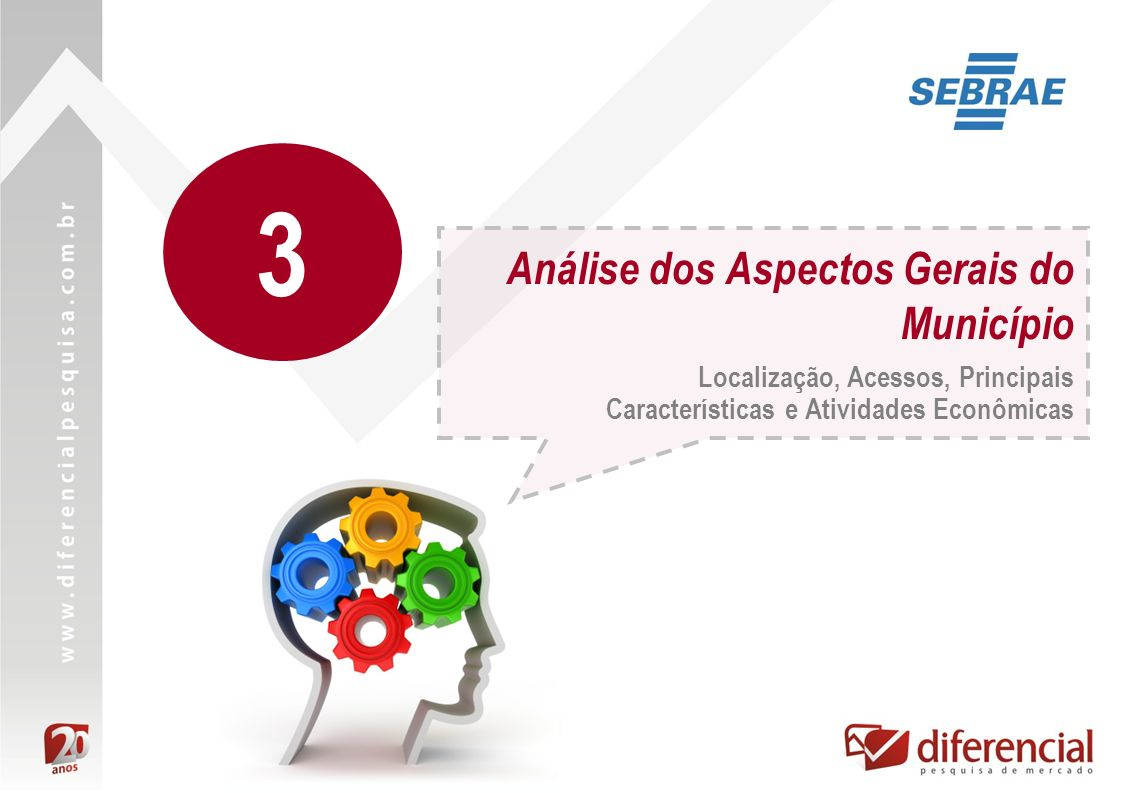 Análise dos Aspectos Gerais do Município Localização, Acessos, Principais Características e Atividades Econômicas 3
