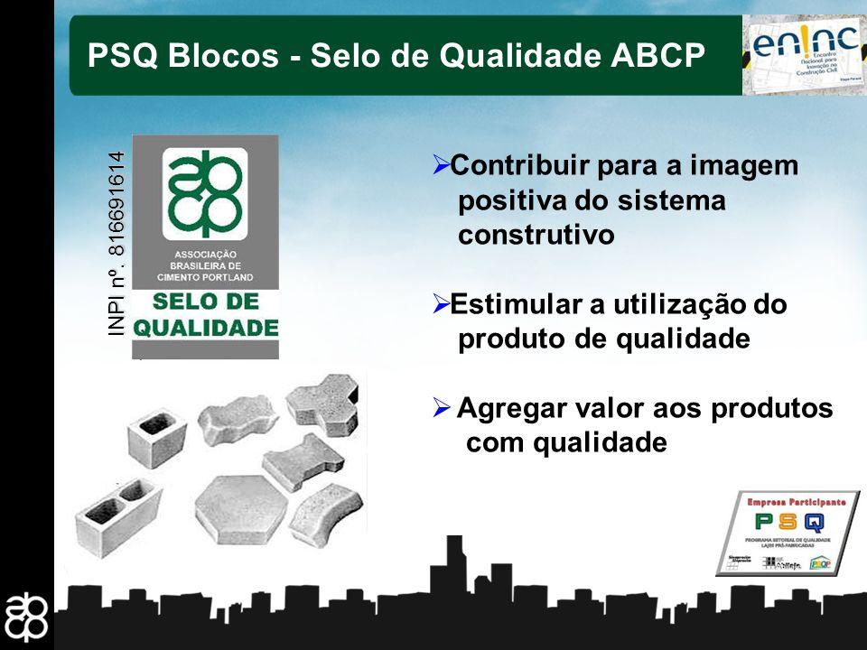 12 Contribuir para a imagem positiva do sistema construtivo Estimular a utilização do produto de qualidade Agregar valor aos produtos com qualidade PS