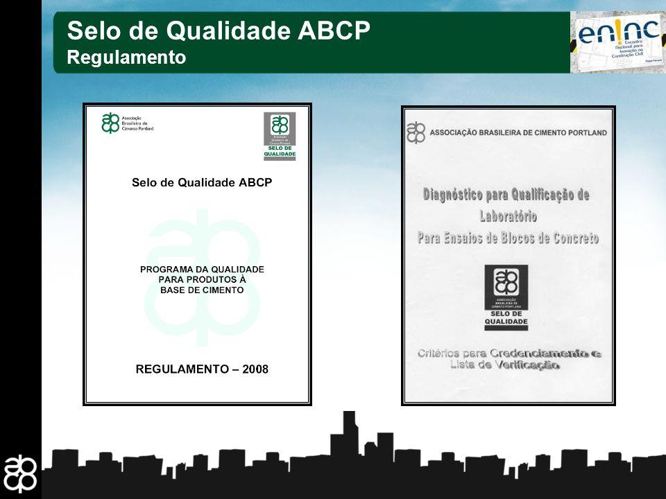 14 Selo de Qualidade ABCP Regulamento