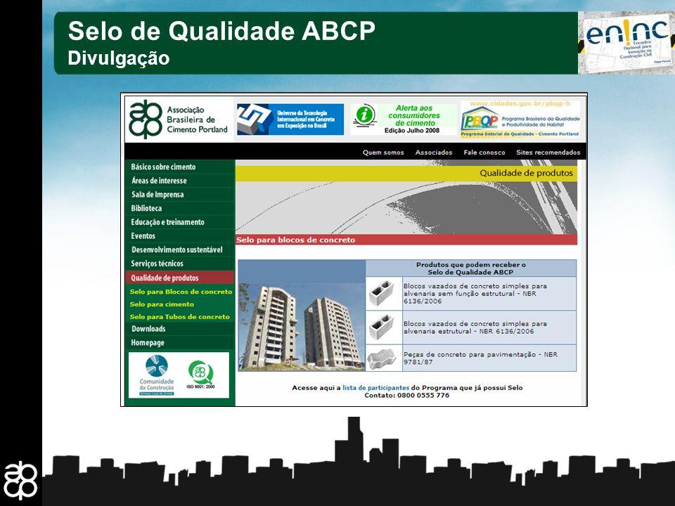 25 Selo de Qualidade ABCP Divulgação