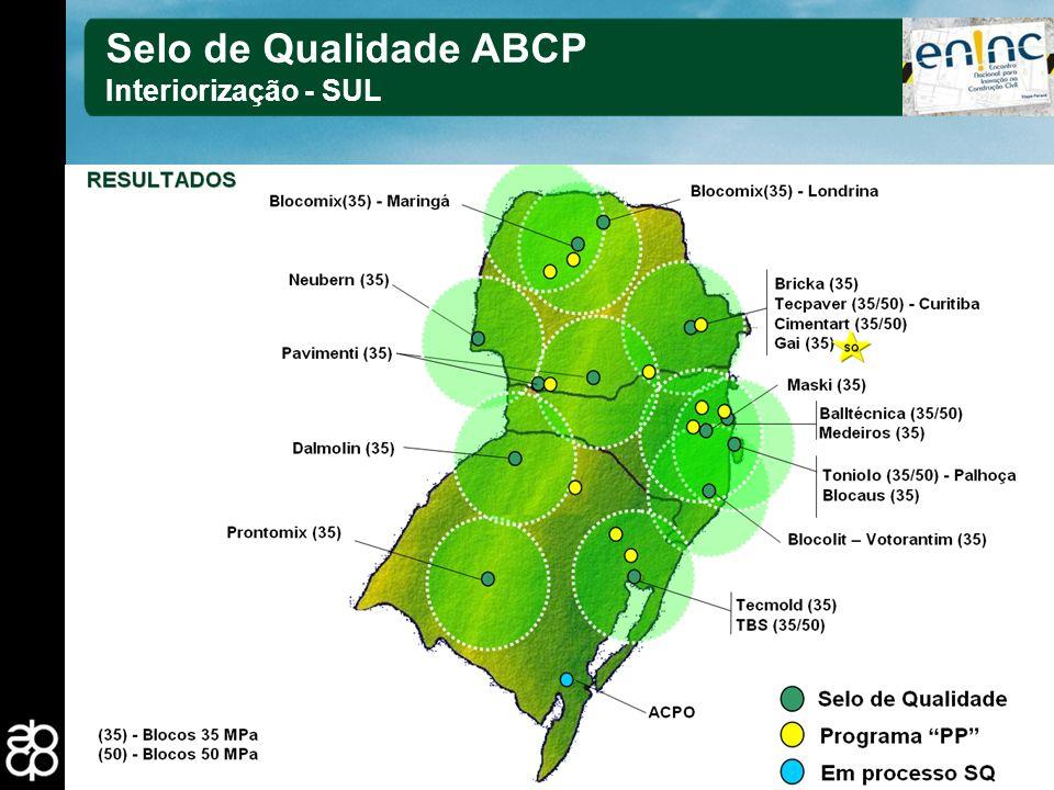 27 Selo de Qualidade ABCP Interiorização - SUL