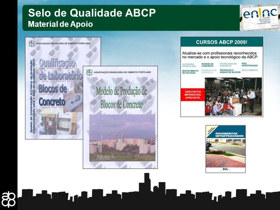 29 Selo de Qualidade ABCP Material de Apoio
