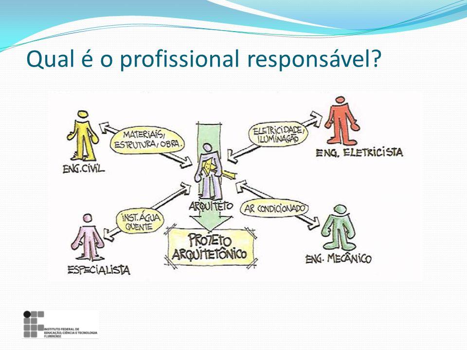 Qual é o profissional responsável?