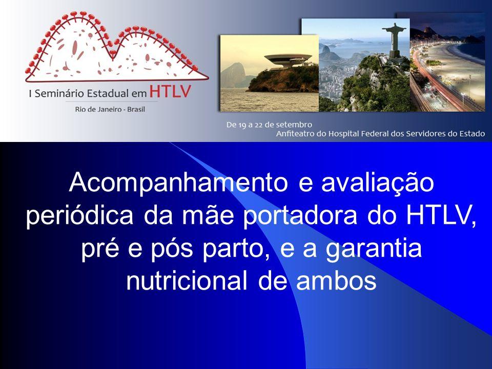Evolução da Gestação Evolução da Gestação 95,3%(164 /172) gestações 6,7%(11/164) aborto durante o acompanhamento 26,8%( 41/153) abortos anteriores P<0,0004 IC=95% 31,7% mais de dois 1,2%(2/164) Natimorto 45,5% co-morbidade com: HIV, HPV,Sífilis, Chagas e toxoplasmose 4,6%(8/172) Sem acompanhamento