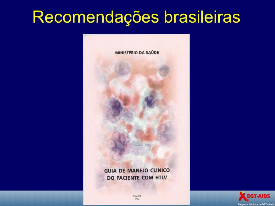 Recomendações brasileiras