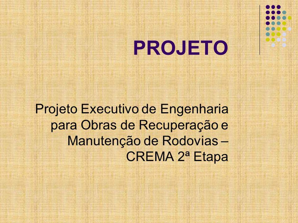 DADOS DO TRECHO Rodovia: BR-262/MS Trecho: Div.SP/MS – Entr.