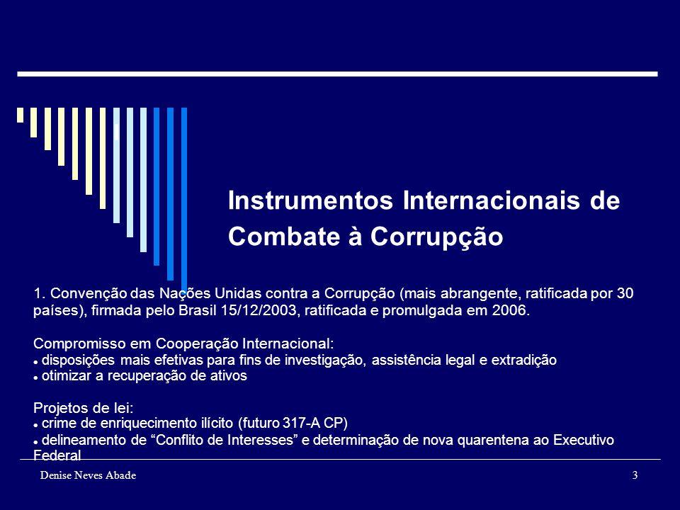 Denise Neves Abade4 Instrumentos Internacionais de Combate à Corrupção 2.