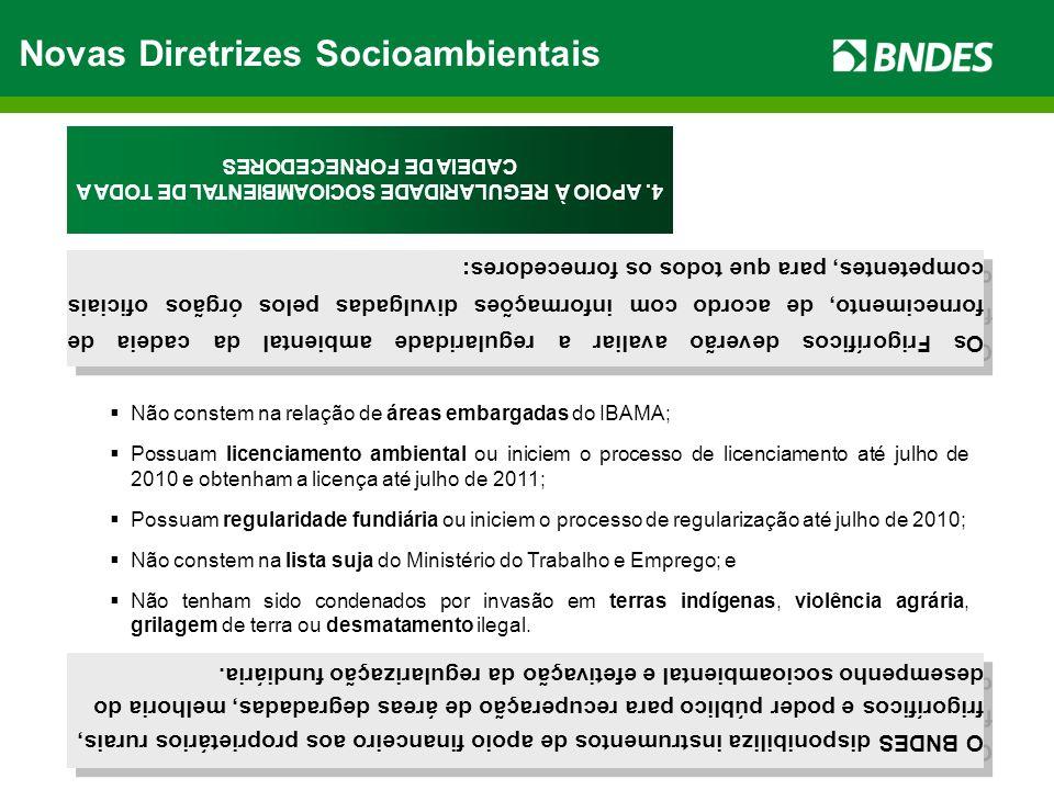 Novas Diretrizes Socioambientais 4.