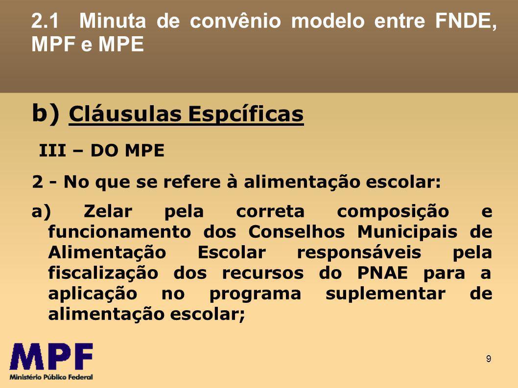 20 3.PROPOSTAS DE ATUAÇÃO (METAS) 3.1.