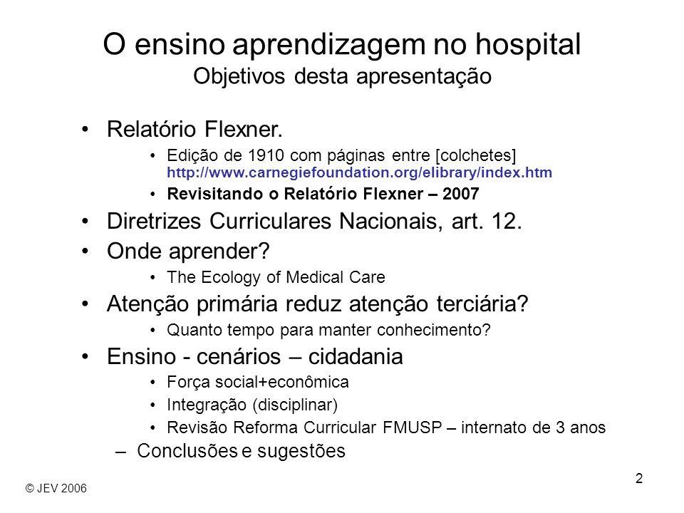3 o hospital e também o ambulatório (dispensary) foram inicialmente entendidos como equivalentes ao laboratório.