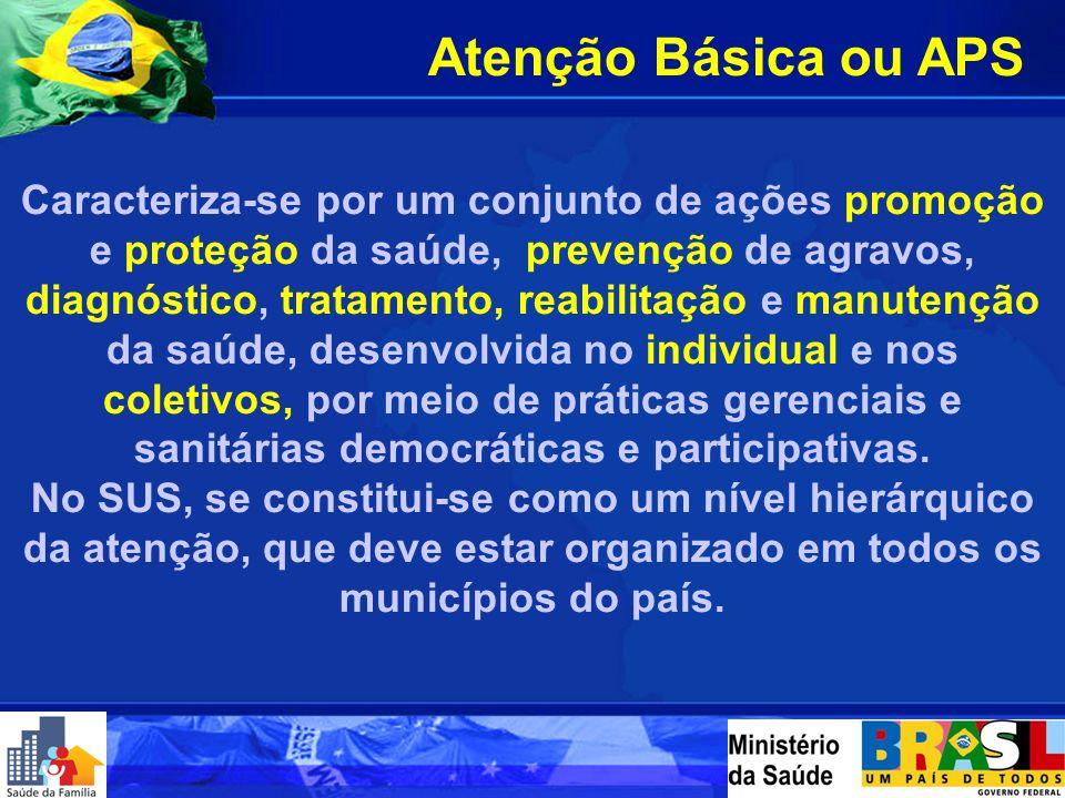 I Seminário de Atenção Primária à Saúde: A Universidade e o Serviço de Saúde São Paulo-SP Março - 2006