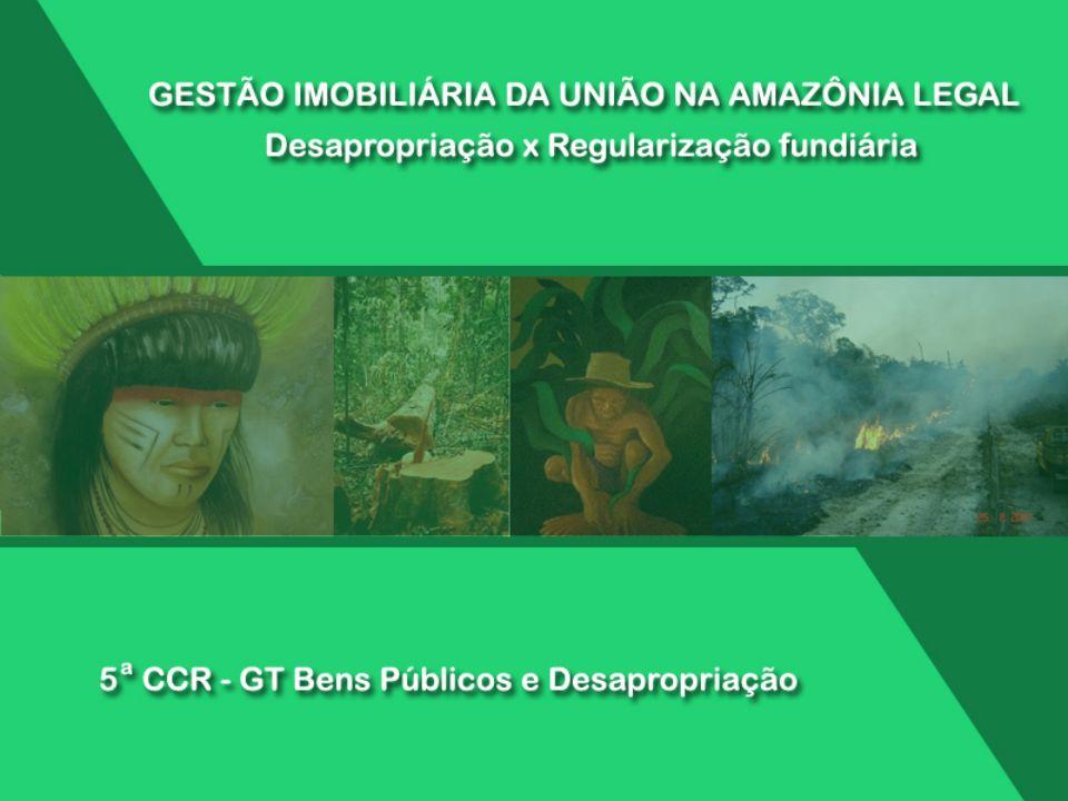 5 – ATUAÇÃO DO INCRA NA REGULARIZAÇÃO FUNDIÁRIA E CONTROLE IMOBILIÁRIO DA UNIÃO Concentração de recursos na obtenção de terras para a reforma agrária.