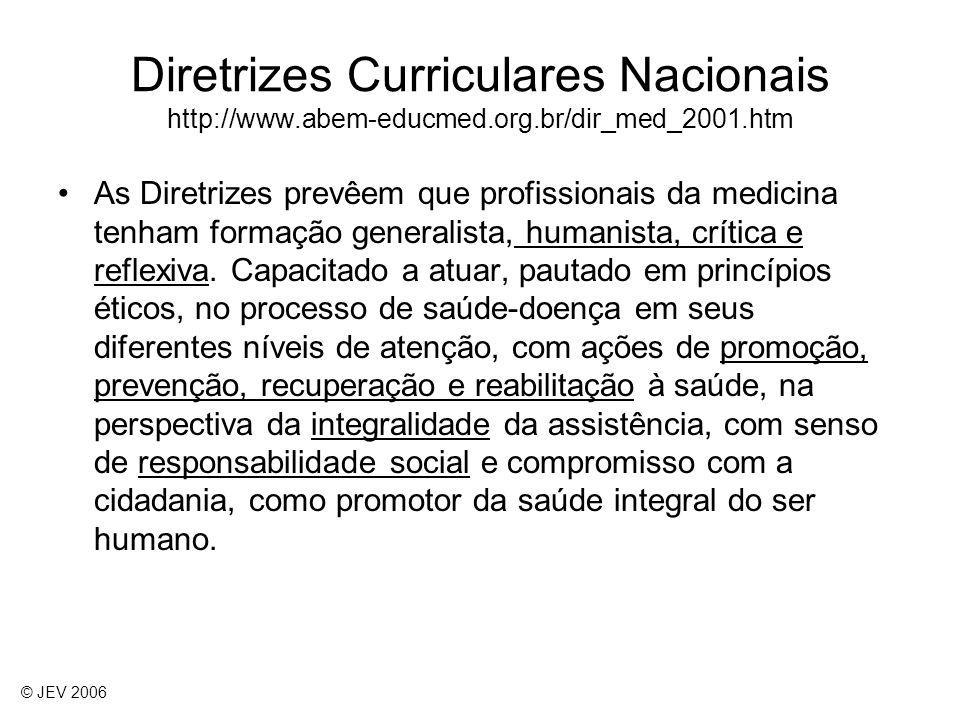 As Diretrizes prevêem que profissionais da medicina tenham formação generalista, humanista, crítica e reflexiva. Capacitado a atuar, pautado em princí