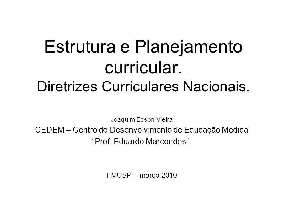 2 Estrutura e Planejamento Curricular.