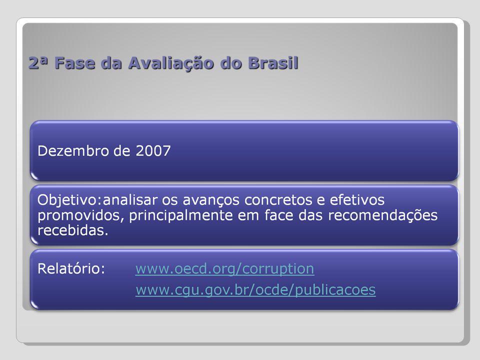 2ª Fase da Avaliação do Brasil