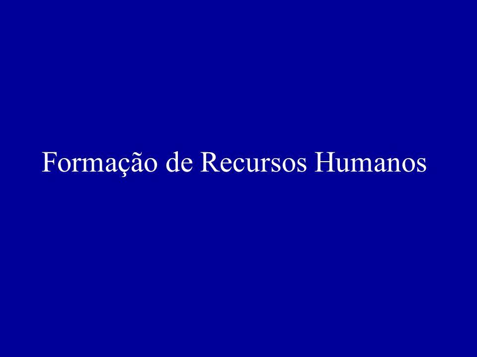 Formação de Recursos Humanos