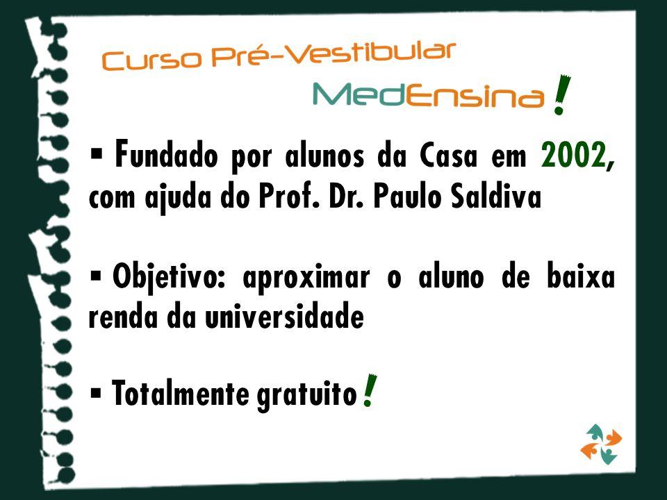 F undado por alunos da Casa em 2002, com ajuda do Prof.