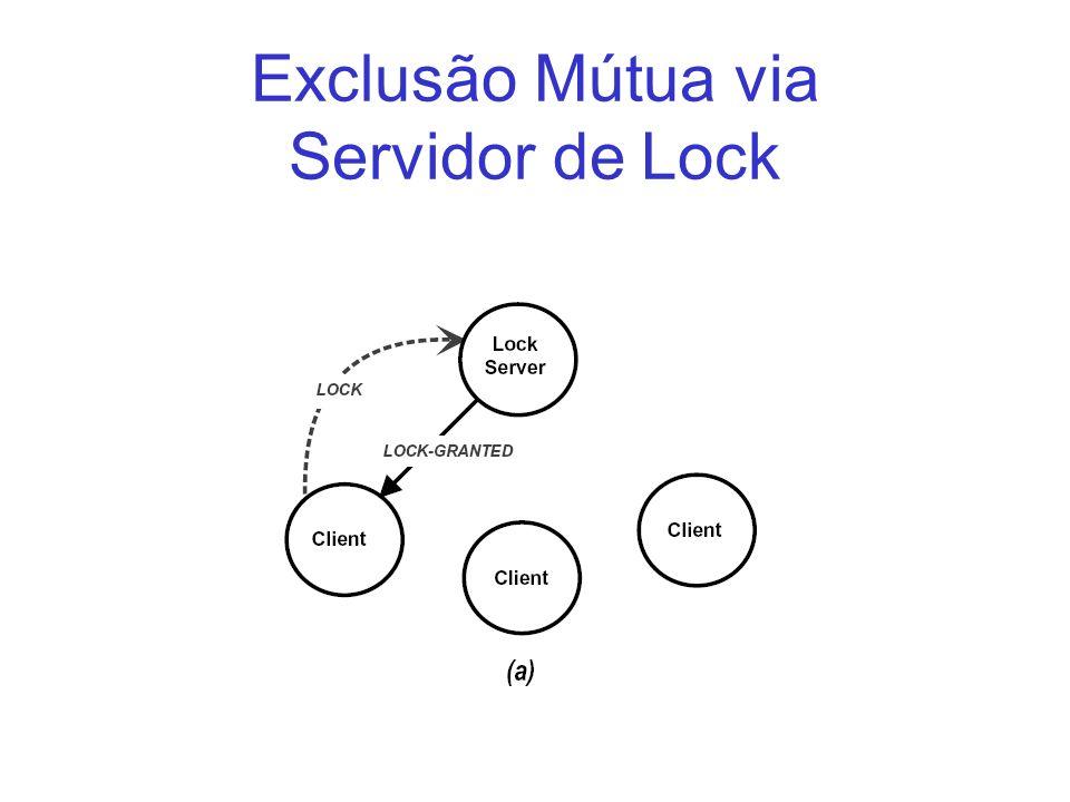 Exclusão Mútua via Servidor de Lock