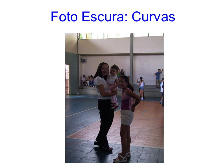 Foto Escura: Curvas