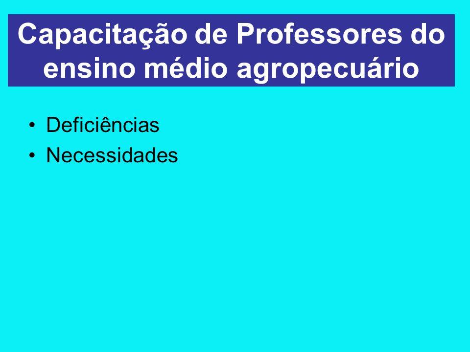 A necessidade de uma PG em ensino agropecuário Origem da PG Esquema curricular - A TIF –Objetivos –Eixos curriculares A parceria com a UFRRJ