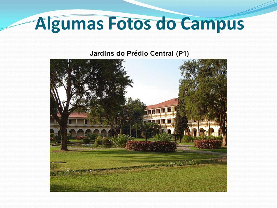 Algumas Fotos do Campus Jardins do Prédio Central (P1)