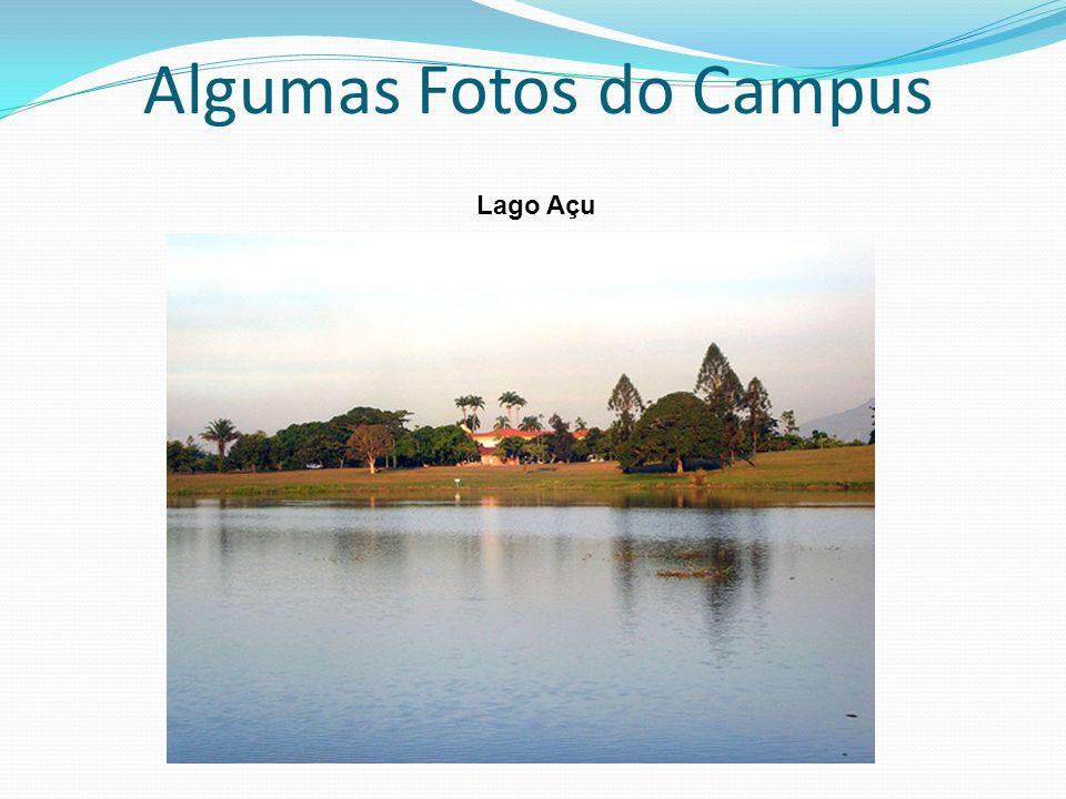 Algumas Fotos do Campus Lago Açu