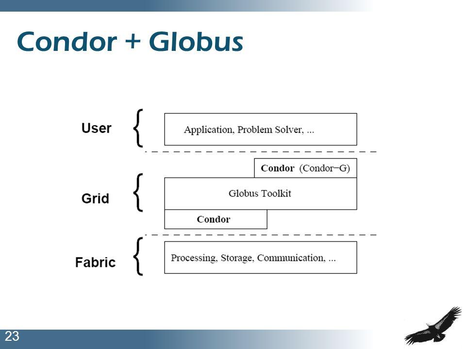 23 Condor + Globus