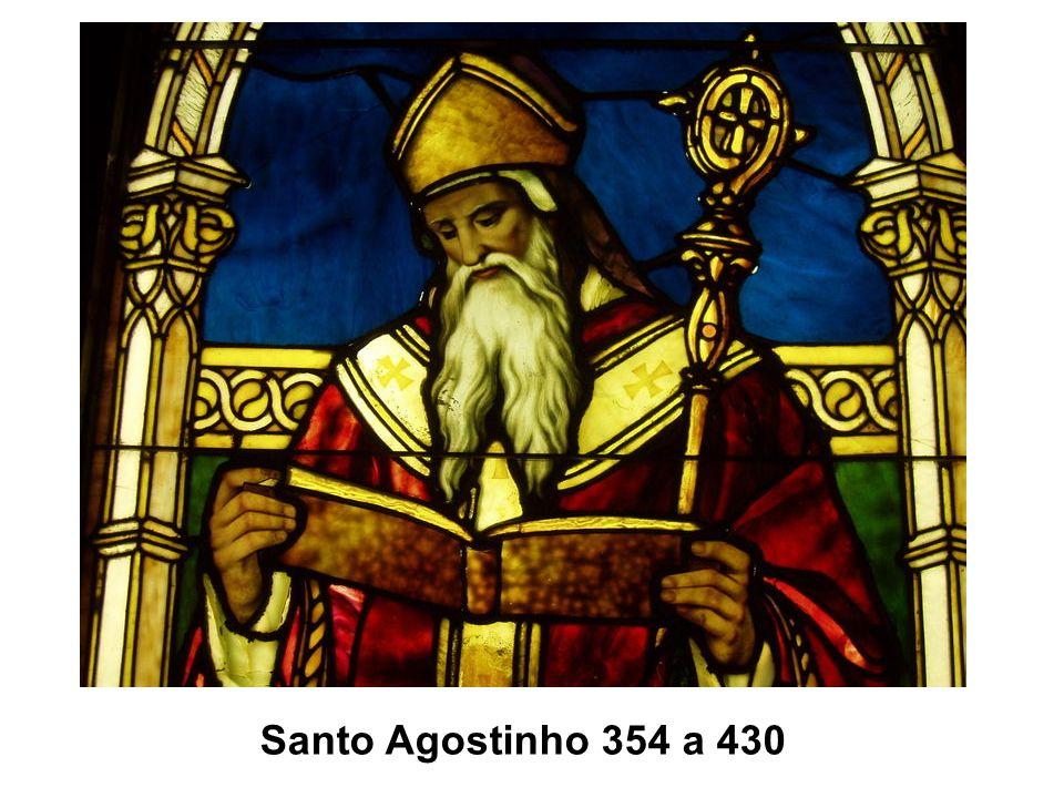 Santo Agostinho 354 a 430