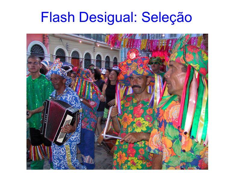 Flash Desigual: Seleção