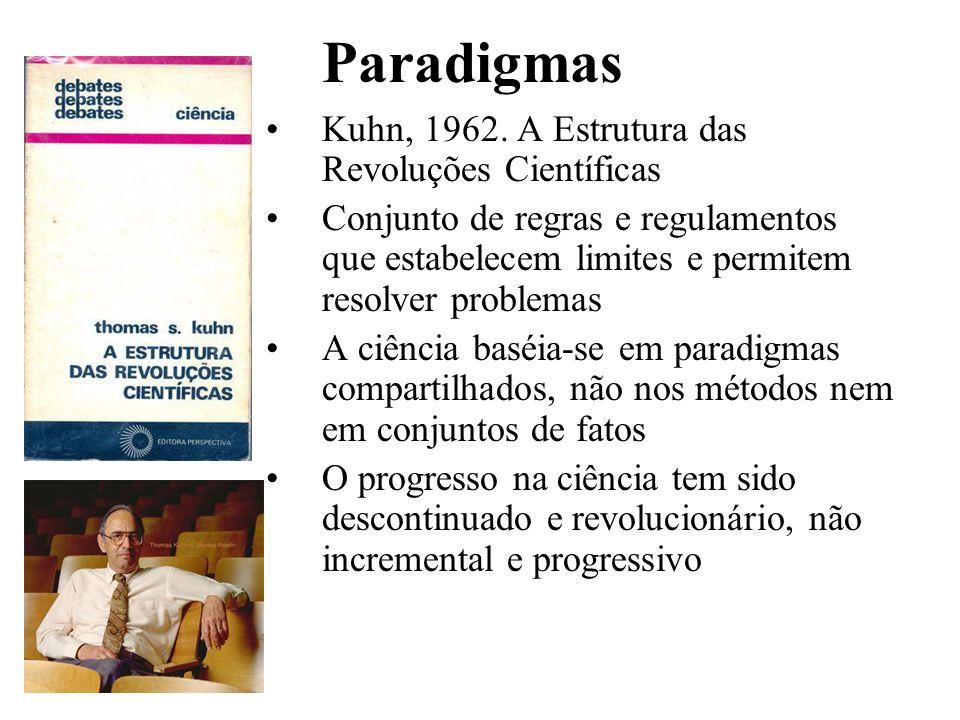 Rompendo Paradigmas María Cristina Plencovich Programa de Pós-graduação em Educação Agrícola UFRRJ, Seropédica, 28 Abril 2008