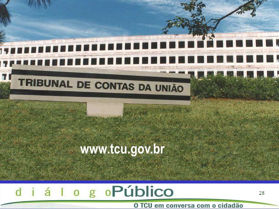 28 www.tcu.gov.br