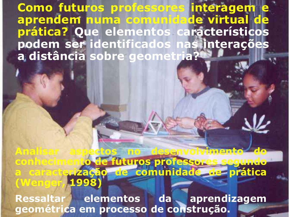 Perspectiva sócio-cultural, que entende o aprendizado como uma atividade oriunda de significados construídos mediante a participação em comunidades específicas de aprendizagem.