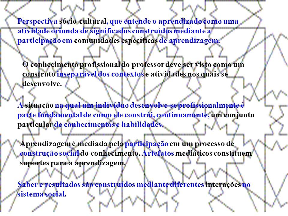 C o n c l u s õ e s Mais um cenário formativo: ambiente virtual, EAD, presencial Inserção dos recursos informáticos (softwares, Applets, imagens, etc.) e comunicativos como artefatos mediadores da aprendizagem propicia aos graduandos reflitirem sobre diferentes ações pedagógicas Multi-representacionalidade na cognição matemática (geométrica) e a importância de desenvolvermos ferramentas de análise (escrita foi o foco aqui) Elementos intimamente relacionados e mutuamente sustentados.