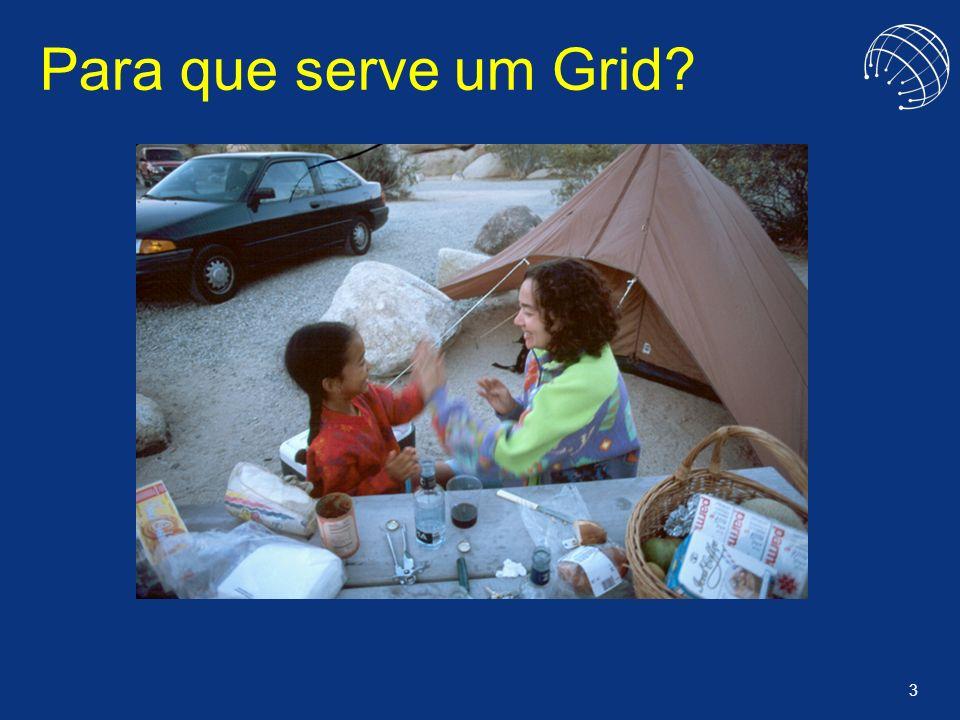 34 OurGrid: Um Grid Best Effort Será que todas aplicações exigem Qos.