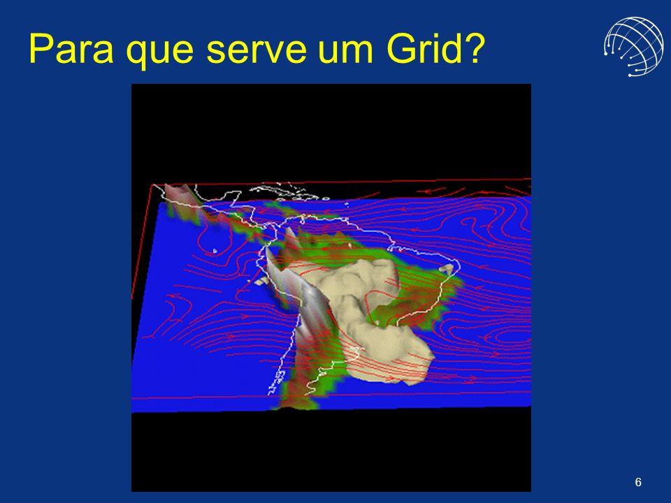 7 O Impacto de Grids VR Simul Grid Auditing MegaCiclos Databank Inc. Mastercard Embratel