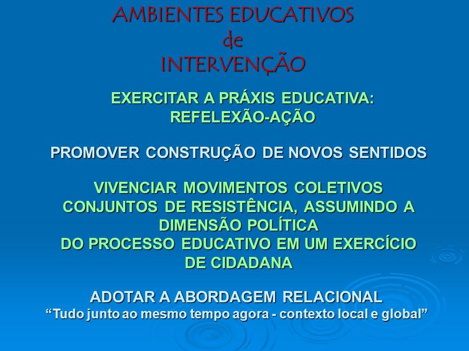 OBRIGADO! A temática desta palestra está desenvolvida nas seguintes publicações: A Formação de Educadores Ambientais -