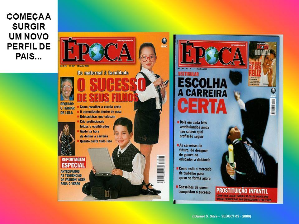 COMEÇA A SURGIR UM NOVO PERFIL DE PAIS... ( Daniel S. Silva – SEDUC/ RS - 2006)