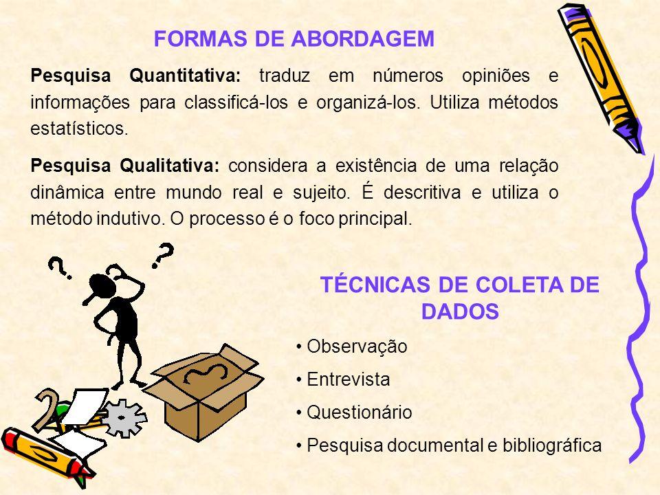CONSTRUÇÃO DO QUESTIONÁRIO Consiste em traduzir os objetivos da pesquisa em perguntas claras e objetivas.