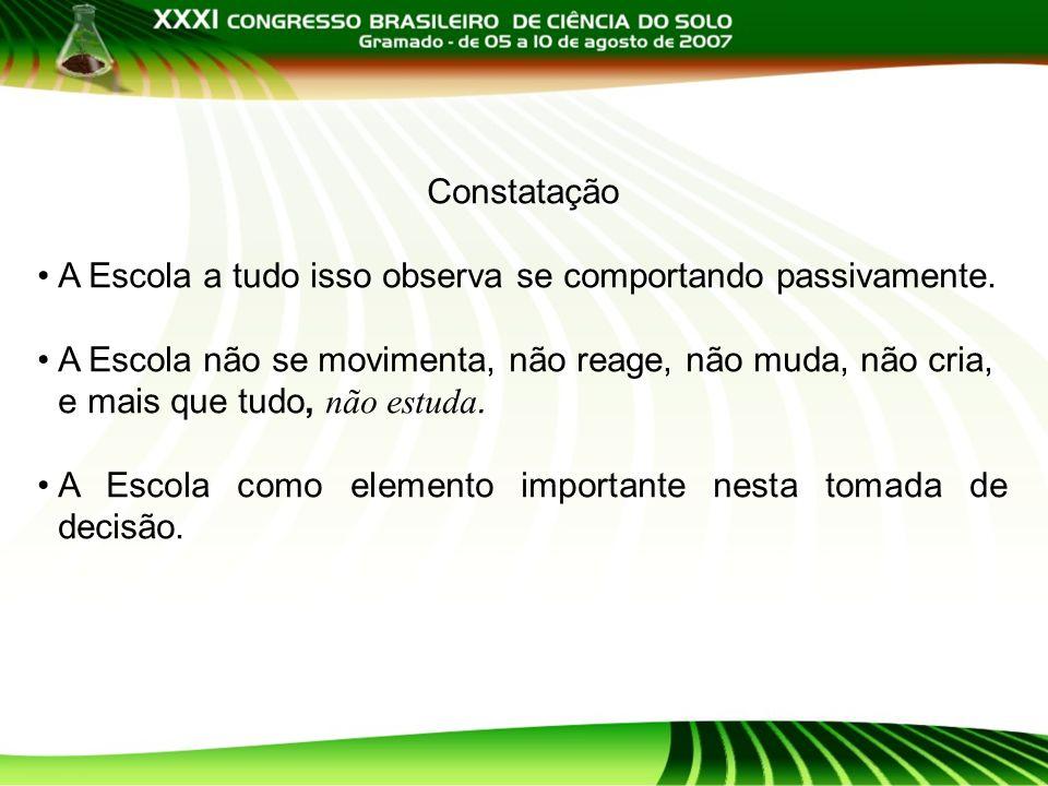 Objetivo Formação de Mestres para as Escolas Técnicas Profissionais: EAFs e Cefets Agrícolas.