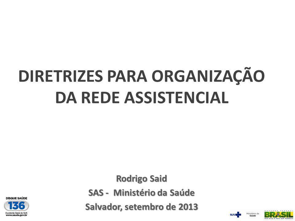 Funções estratégicas Regulação UBS Emissão de relatórios; Monitoramento dos casos graves; Diagnóstico laboratorial específico.