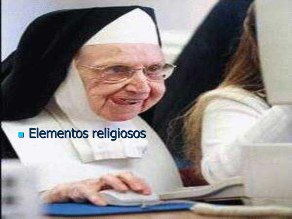 Elementos religiosos Elementos religiosos