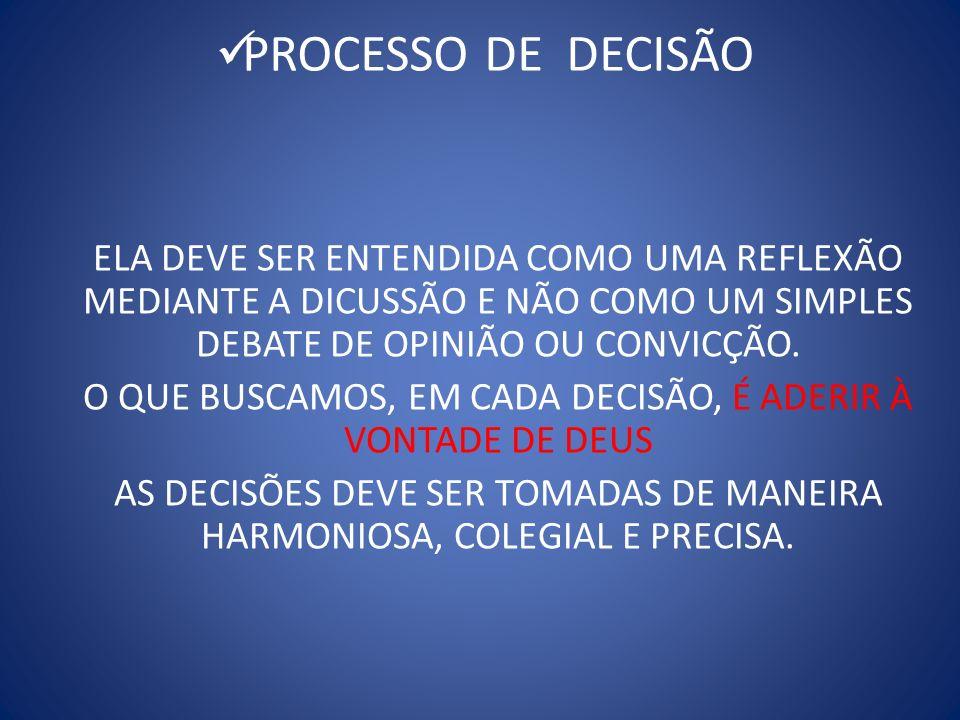 PROCESSO DA CO- RESPONSABILIDADE É UM SERVIÇO E NÃO AUTORIDADE.