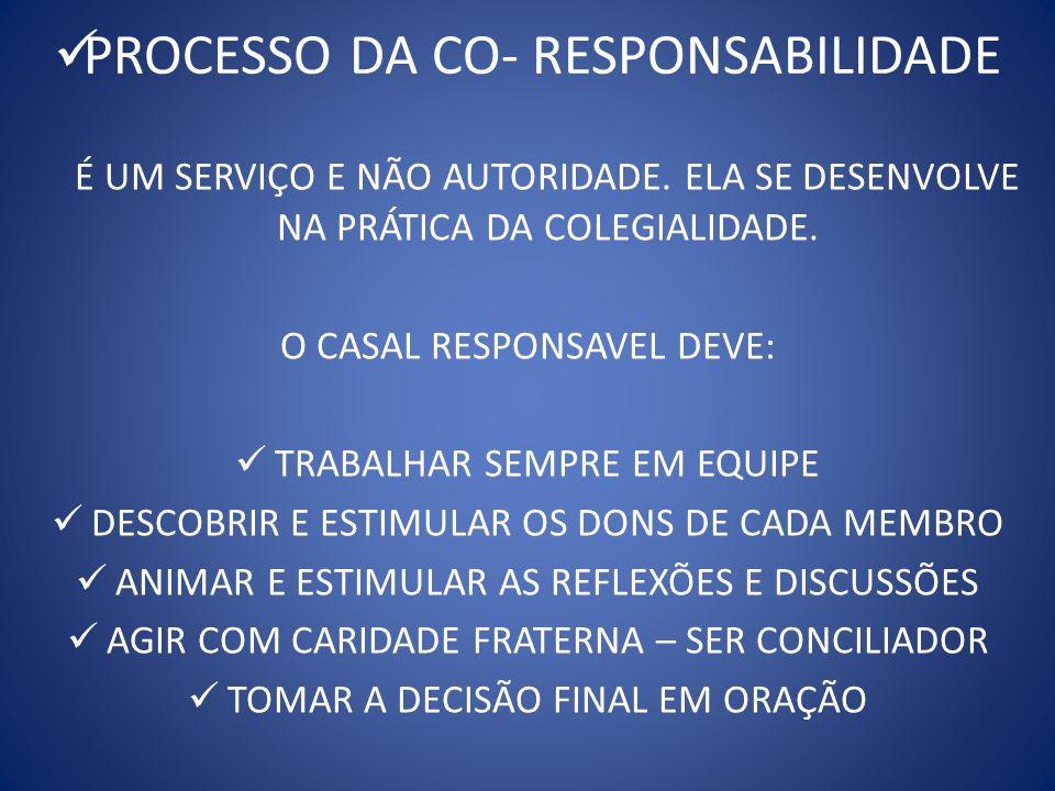 DECISÃO EM COMUM ELA É UM COMPROMETIMENTO DE TODOS OS MEMBROS RESPONSÁVEIS PELO COLEGIADO.