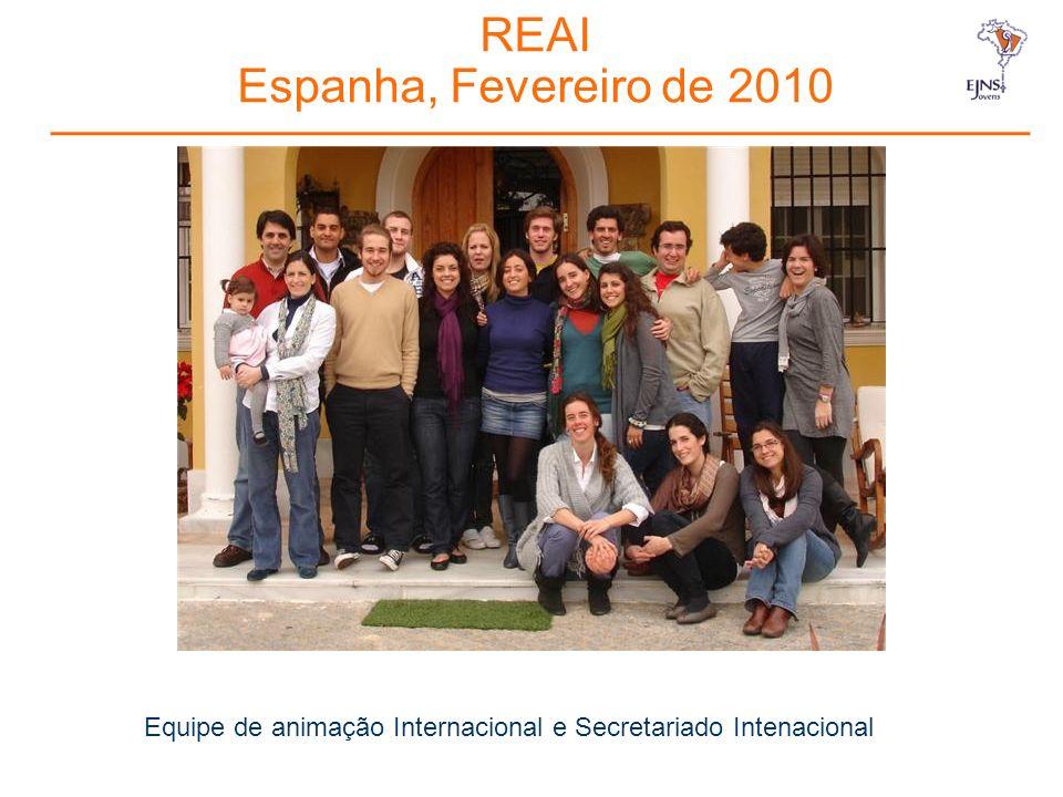 REAI Espanha, Fevereiro de 2010 Equipe de animação Internacional e Secretariado Intenacional