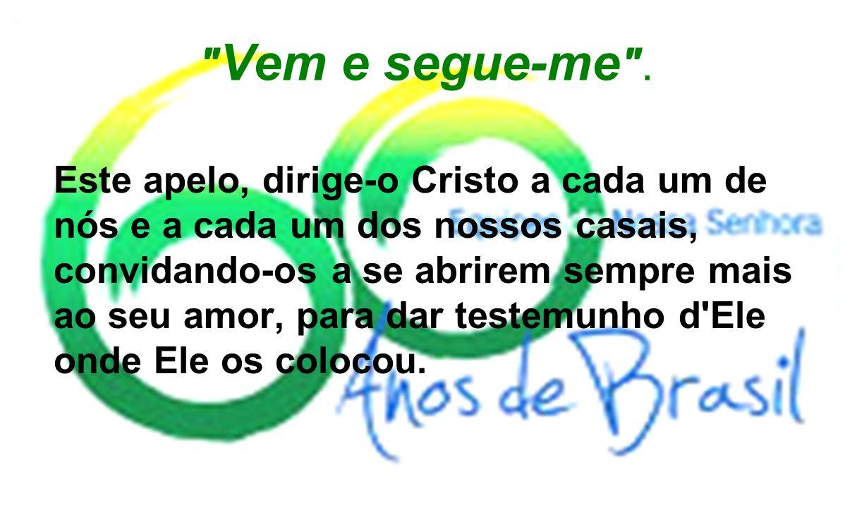 UM PROPÓSITO (Pretensão, projeto) Alguns casais, desejam responder a este apelo, pois: - tem consciência da sua fraqueza; - confiam na graça do sacramento do matrimônio; - crêem na eficácia da mútua ajuda fraterna; - crêem na promessa de Cristo; Quando dois ou três estiverem reunidos em meu nome, eu estou no meio deles (Mt 18,20) Tal é o propósito comum aos casais das Equipes de Nossa Senhora.