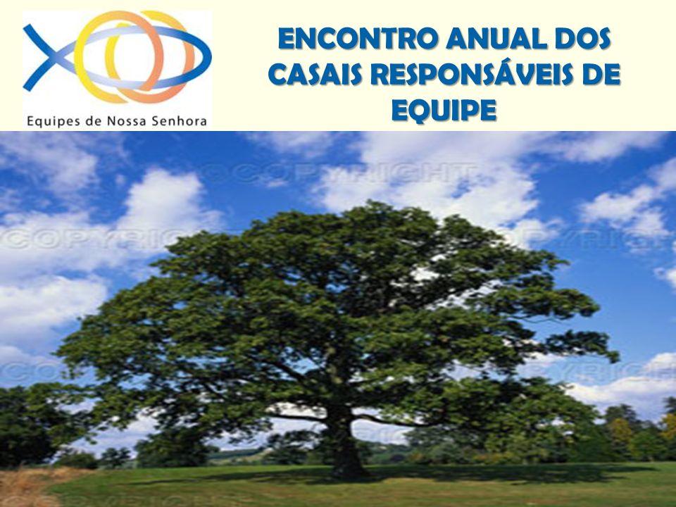 ENCONTRO ANUAL DOS CASAIS RESPONSÁVEIS DE EQUIPE