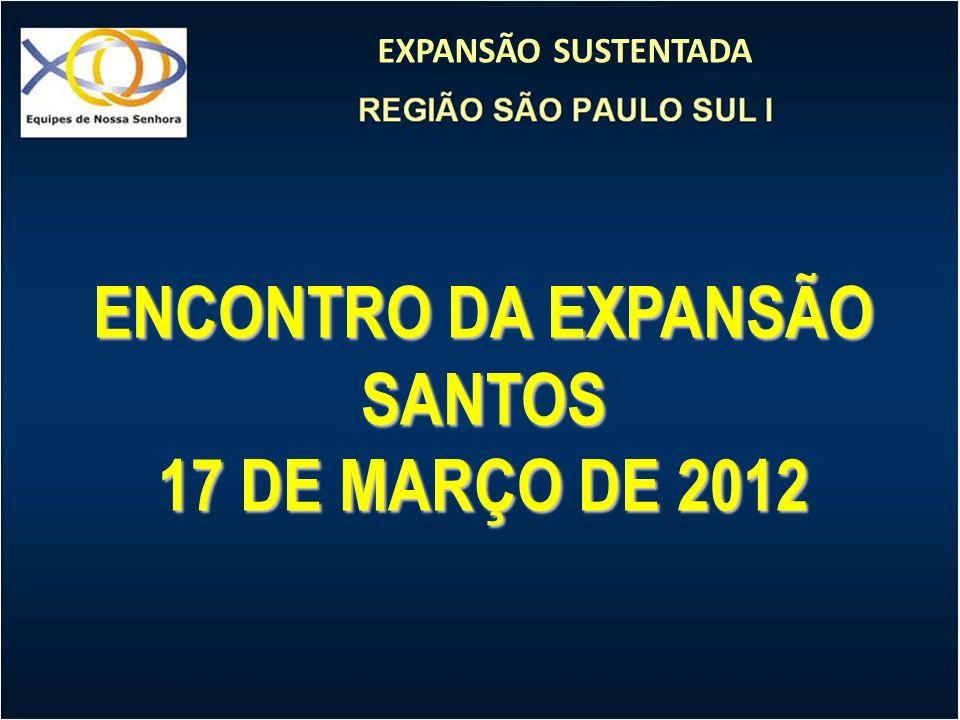EXPANSÃO SUSTENTADA ENCONTRO DA EXPANSÃO SANTOS 17 DE MARÇO DE 2012